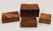 Contemporary boxes