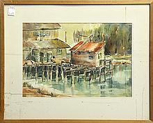 Watercolors, Stella Bee Potter Finley and Art Ellis