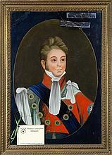 Chinese Export Eglomise Portraits, King George IV