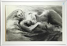 Reclining Mother and Child