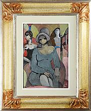 Painting, Follower of Pablo Picasso