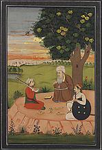 Indian Miniature Painting, Figures