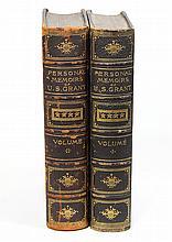 (lot of 2) Books: Personal Memoirs of U.S