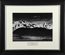 Photograph, Ansel Adams, Winter Sunrise