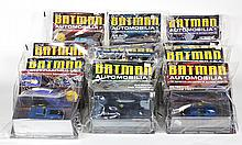 (lot of 12) Batman Automobilia: The Definitive Cellection of Batman Vehicles