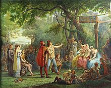 Watercolor, Jean Baptiste Francois Arnaud-Durbec