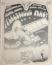 Fleetwood Mac Rare Rock Poster, 1973