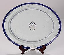 Chinese Export Armorial Serving Platter