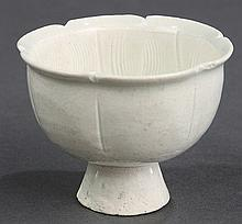 Chinese Qingbai Type Footed Cup