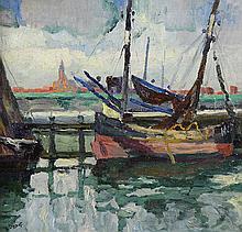 Painting, Leon Londot