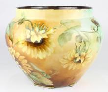 Limoges porcelain jardiniere