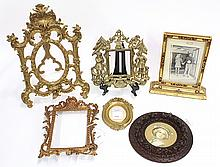(lot of 6)  Group of associated picture frames