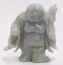 Chinese Lavender Jade Budai