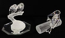 Swarovski Collectors Society sculptures