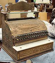 National cash register model 47, late 19th century, having