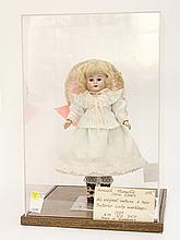 Antique Armand Marseille bisque doll in case