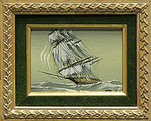 Painting, Ship Under Sail