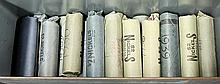 (lot of 50 plus rolls) Buffalo nickels, mostly 1934 to 1939 in old unsearched bank wrappers, housed in an old metal ammo case