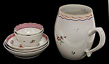 (lot of 6) Chinese export porcelain