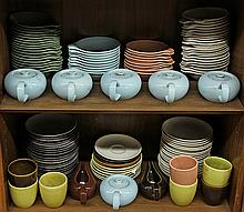 Russel Wright Steubenville pottery tableware