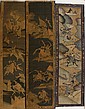Three Chinese Kesi Woven Panels