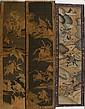 Three Chinese Kesi Woven Panels