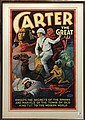 Vintage Lithographic Poster, Carter the Great, Otis Lithograph Co.