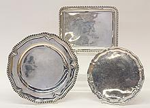 Continental English and Spanish silver bowls