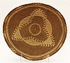 Klamath basketry gaming tray