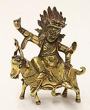 Tibetan Bronze Buddhist Figure