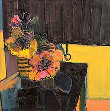 Painting, Henrietta Berk, Still Life with Flowers