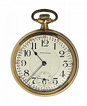 Waltham railroad openface pocket watch , Circa 1950