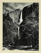 Photograph, Ansel Adams, Yosemite Falls