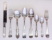 American sterling and coin silver flatware