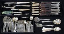 American sterling silver flatware service for eight by International in the