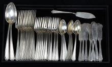 (lot of 43) Whiting Mfg. Company sterling silver partial flatware service in the