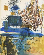 Painting, Louis Bunce
