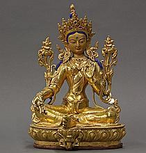 Himalayan Bronze Tara