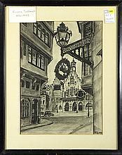 Drawing, Franz Sedlacek