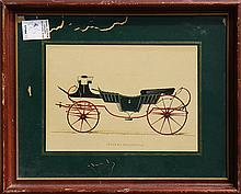 Prints, Various Carriage Illustrations