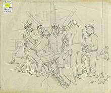 Drawings, American School (20th century)