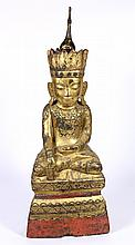 Southeast Asian/Shan Wood Buddha
