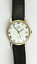 Gentleman's Universal Geneve Polerouter automatic date wristwatch