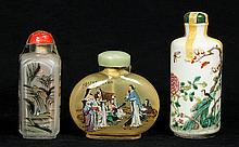 Chinese Cabinet Glass/Porcelain Bottles