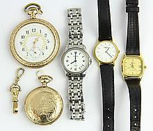 (Lot of 6) Collection of watches