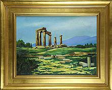 Painting, Ancient Ruins
