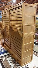 Japanese Large Two Section Tansu Chests