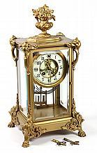 Gilbert Clock Co. crystal regulator clock