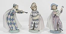 (lot of 3) Lladro figurine group