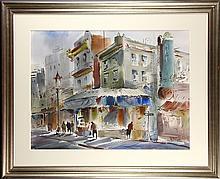 Watercolor, Harold Gretzner